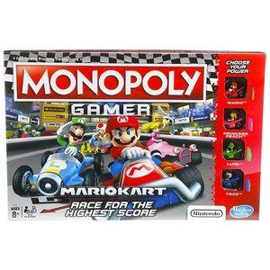 NWT Monopoly Gamer MarioKart Boardgame gaming fun